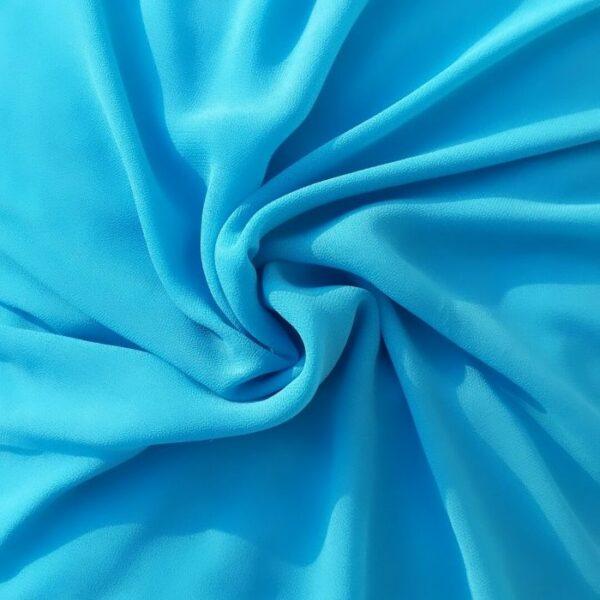 Chiffon Hijab Light Blue