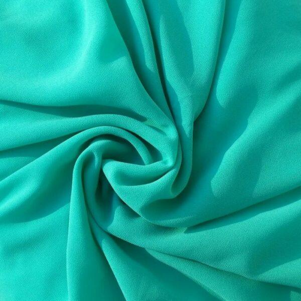Georgette Hijab Turquoise
