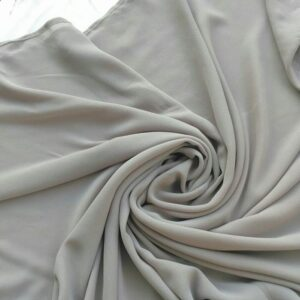 Chiffon Hijab Light Grey