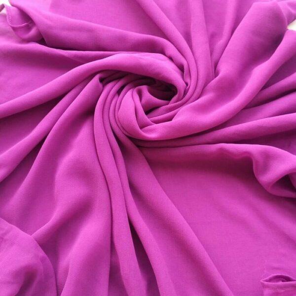 Chiffon Hijab Purple