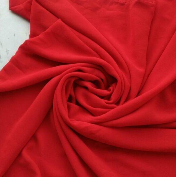 Chiffon Hijab Red