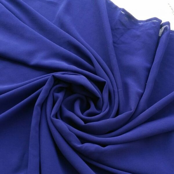 Chiffon Hijab Royal Blue