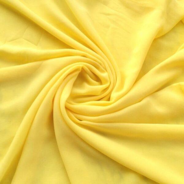 Georgette Hijab Yellow