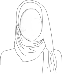 Conventional Hijab Style
