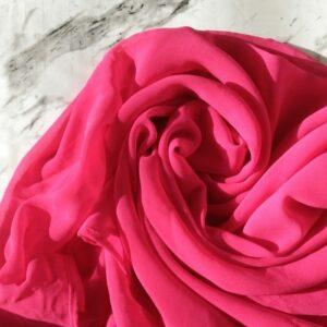 Chiffon Hijab Hot Pink