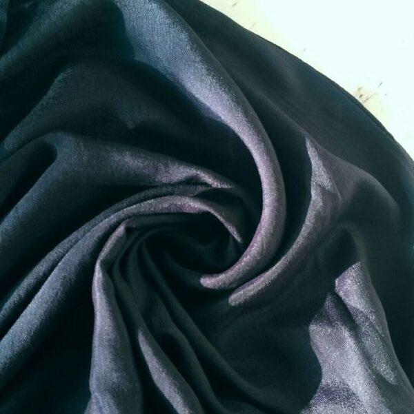 Cotton Silk Hijab Navy
