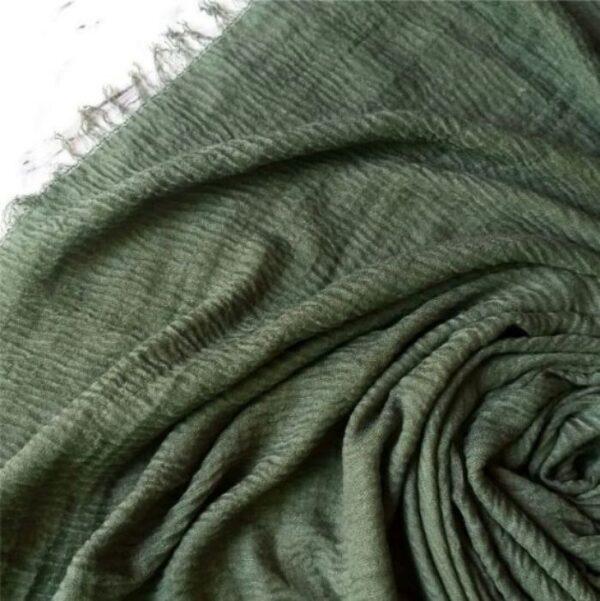 Ripple Cotton Hijab Fern