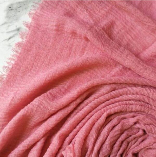 Ripple Cotton Hijab Flamingo