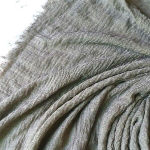 Ripple Cotton Hijab Gravity