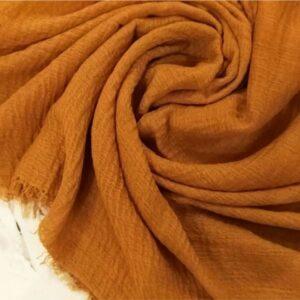 Ripple Cotton Hijab Caramel