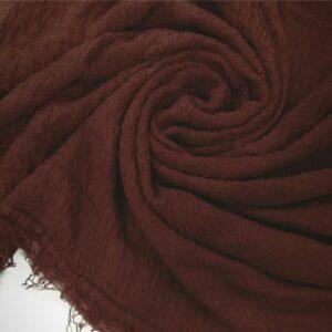 Ripple Cotton Hijab Wood