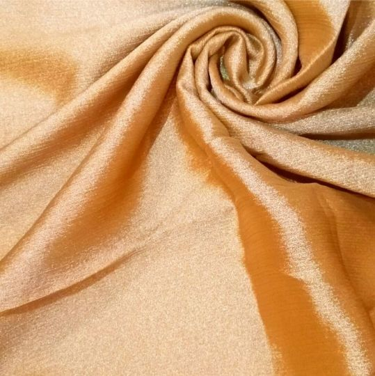 Shimmer Silk Hijab Gold