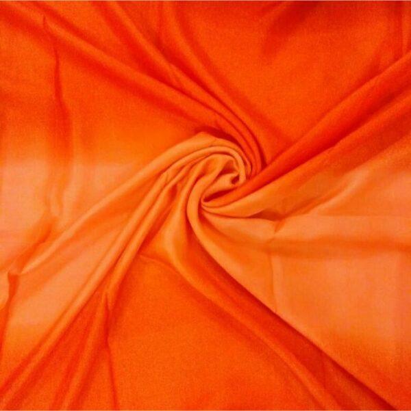 Tie & Dye silken Viscose Hijab Candle Light