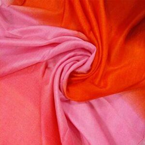 Tie & Dye silken Viscose Hijab Popsicle