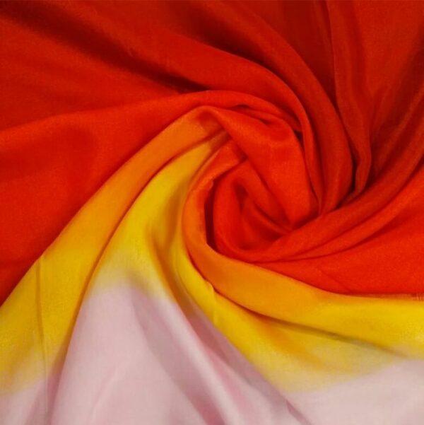Tie & Dye silken Viscose Hijab Tropics