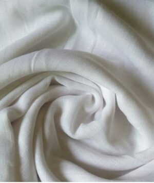 Turkish Cotton Hijab Frostine White