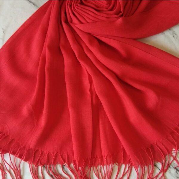 Turkish Cotton Scarlet