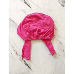 Under Scarf Cap Candy Pink