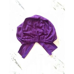 Under Scarf Cap Purple