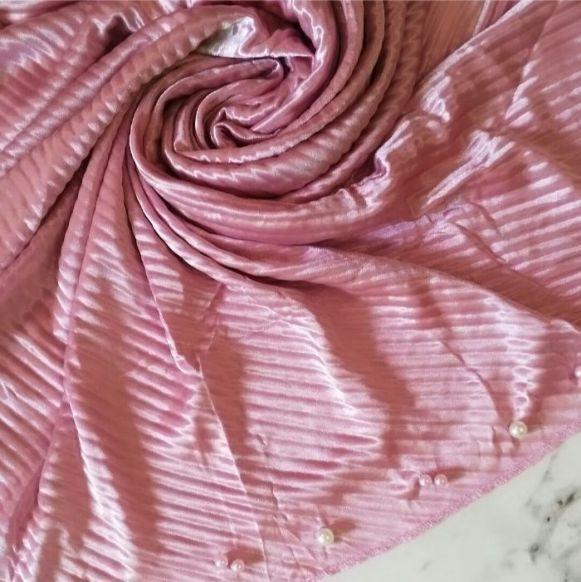 Pearlescent Jersey Flamingo Pink