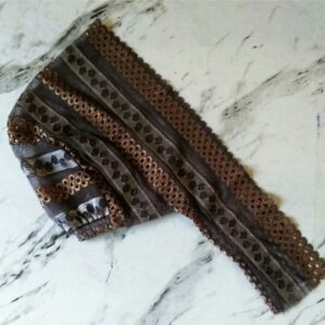 Lace Underscarf Brown