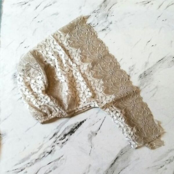 Lace Underscarf Fawn