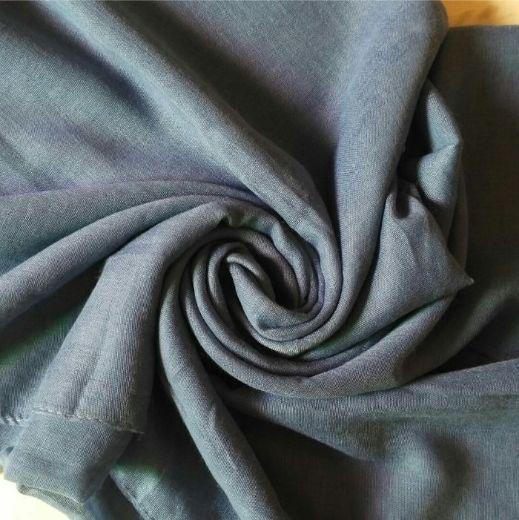 Lawn Hijab Prussian Blue