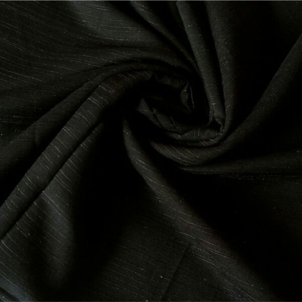 Premium Nepalese Silk Black