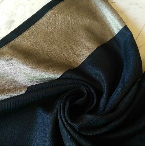 Silken Viscose Hijab Navy