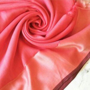 Silken Viscose Hijab Pink