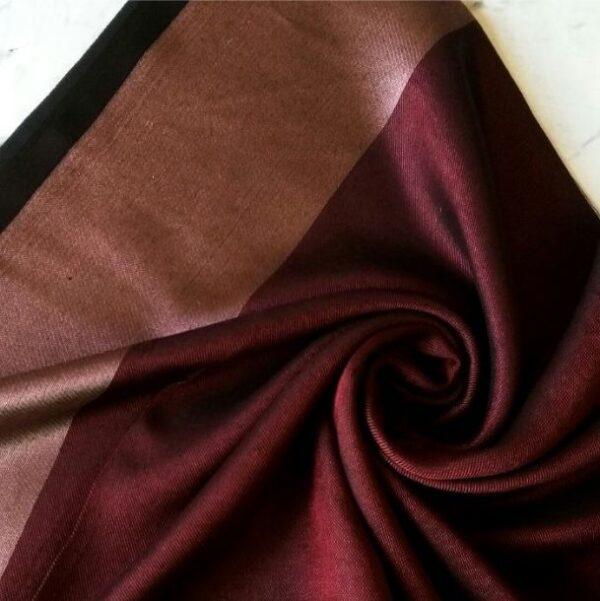 Silken Viscose Hijab Plum