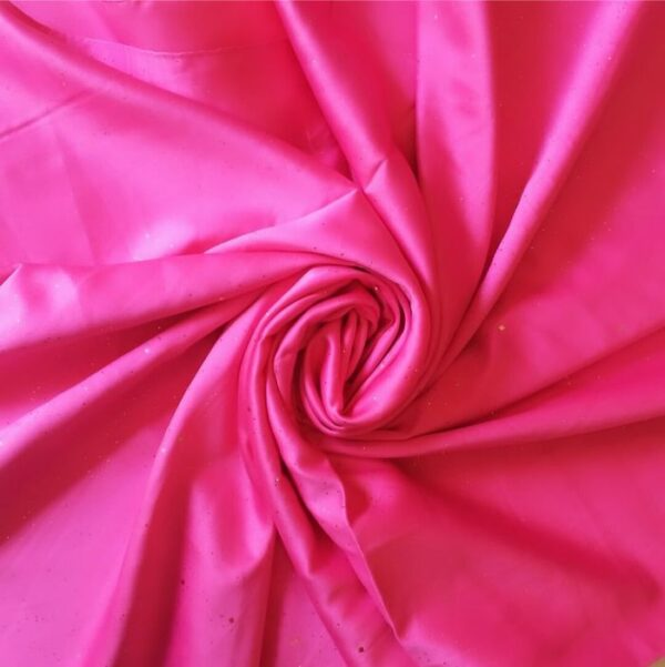 Starry Night Satin Hot Pink