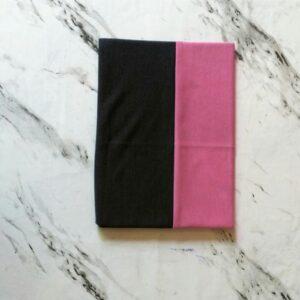 Tube Underscarf Dual Tone Dark Grey Pink