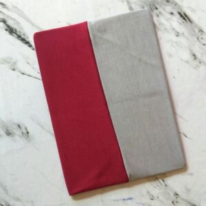 Tube Underscarf Dual Tone Grey Red