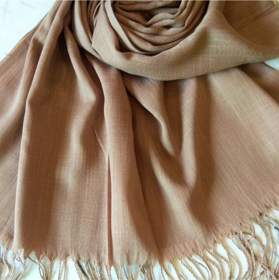 Turkish Cotton Hijab Taupe