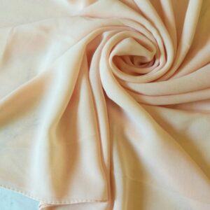 Premium Chiffon Hijab Custard