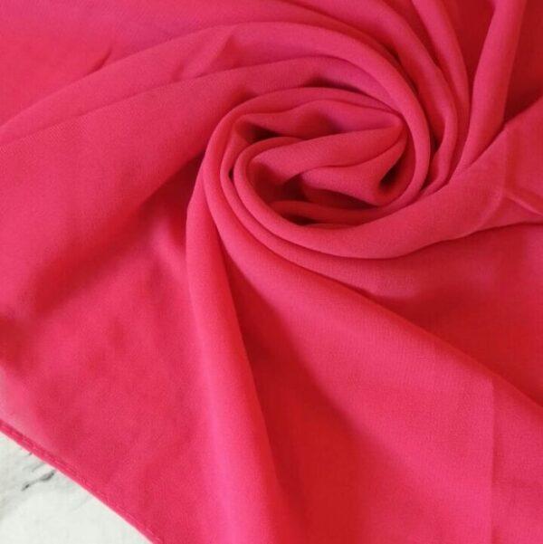 Premium Chiffon Hijab Dark Pink