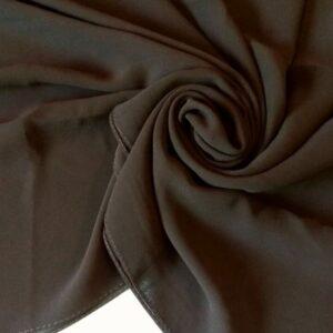 Premium Chiffon Hijab Mocha