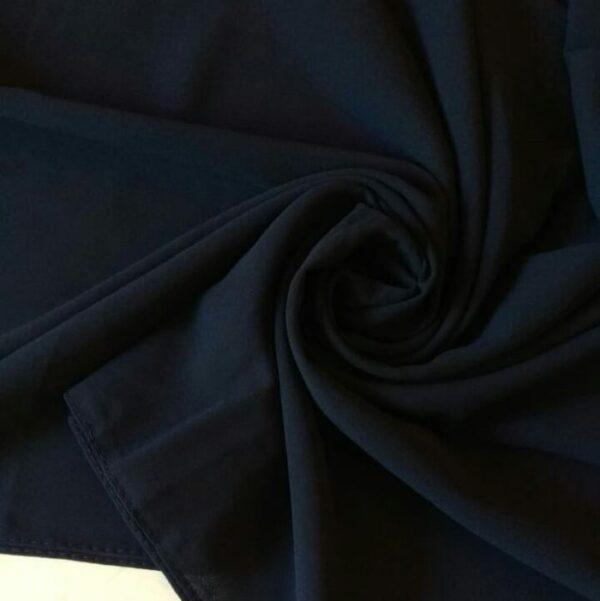 Premium Chiffon Hijab Navy