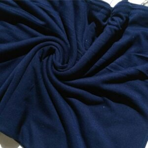 Premium Cotton Jersey Hijab Navy