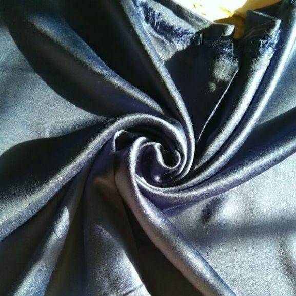 Satin Hijab Blue