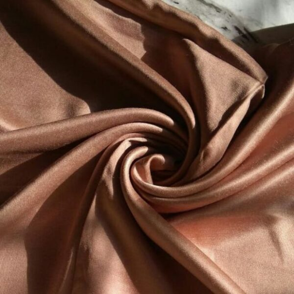 Satin Hijab Bronze