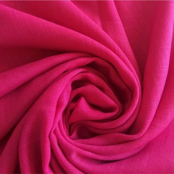 Turkish Cotton Hijab Deep Pink