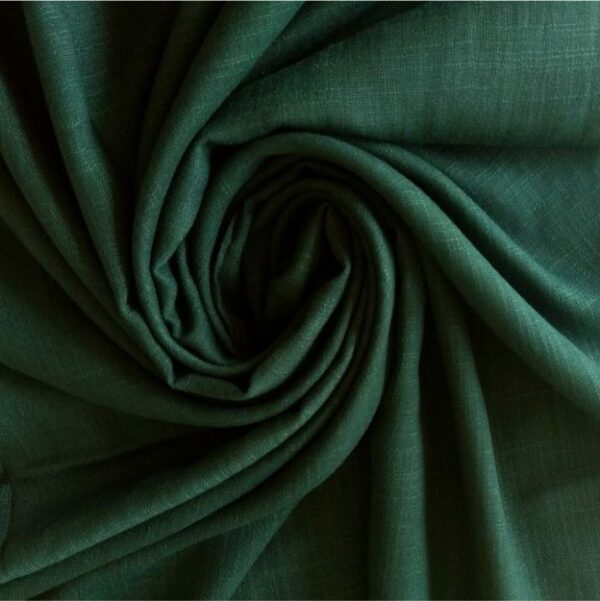 Turkish Cotton Hijab Forest Green
