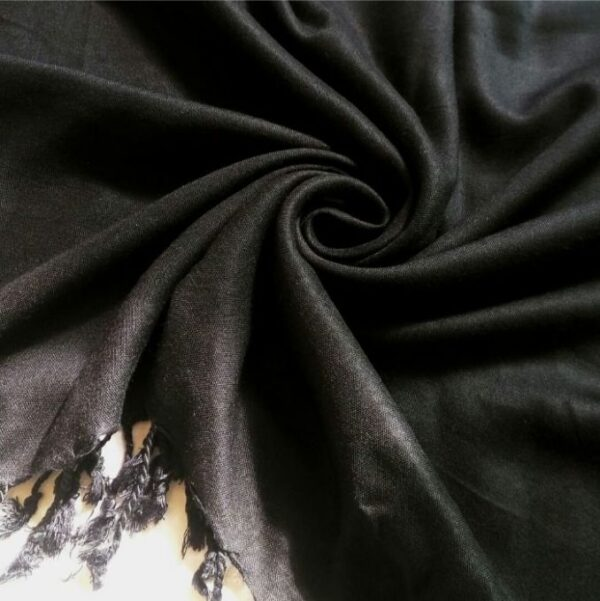 Cotton Hijab Black