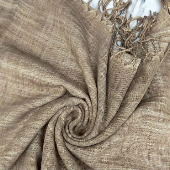 Cotton Wool Hijab Deer