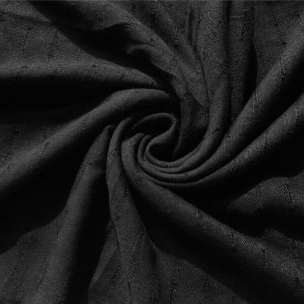 Doriah Premium Lawn Hijab Black