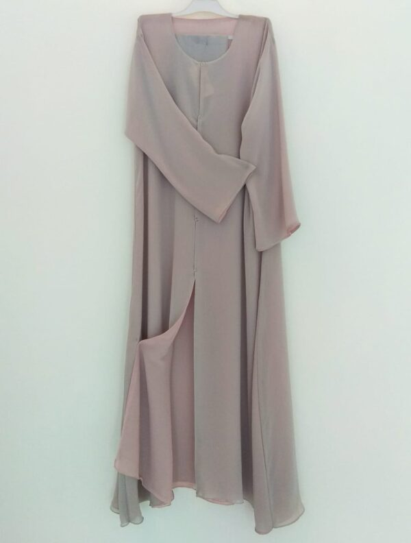 Double Sided Pigeon Open Abaya