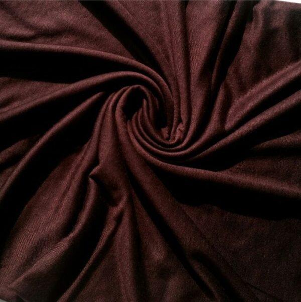 Premium Cotton Jersey Hijab Brown