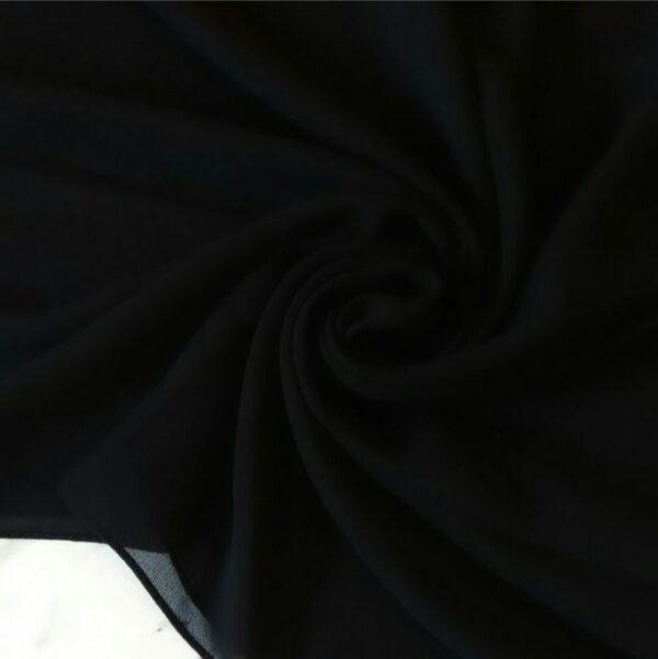 Premium Georgette Black